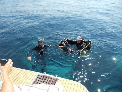 baptême de plongée Marseille avec bellevue plongée