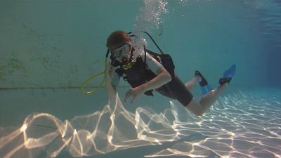 Baptême de plongée sous marine en piscine avec BELLEVUE PLONGEE